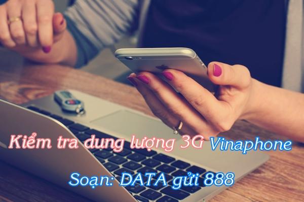 Hướng dẫn nhanh cách kiểm tra dung lượng 3G vinaphone còn lại