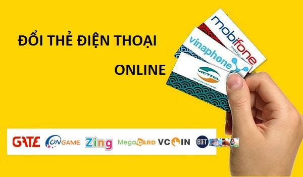 Địa chỉ đổi thẻ điện thoại online nhanh nhất