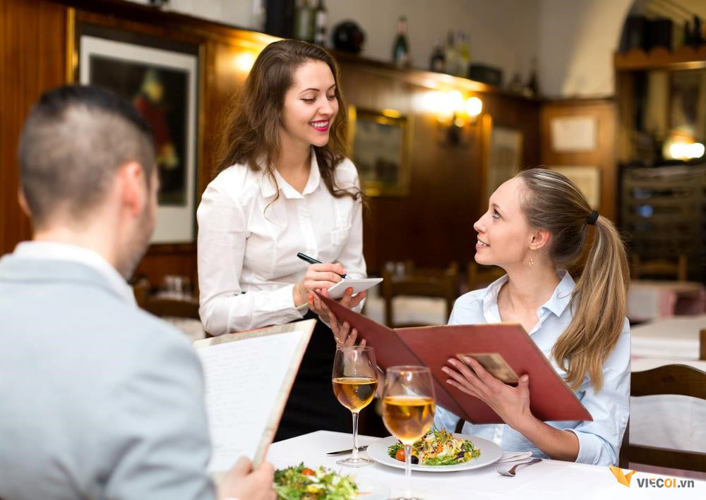 Bật mí các kỹ năng phục vụ khách hàng cho các thực tập sinh