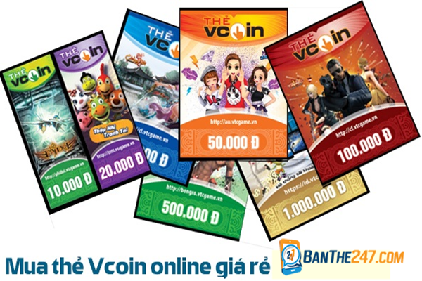 Mua thẻ VTC online dễ hơn cả mua trực tiếp bên ngoài