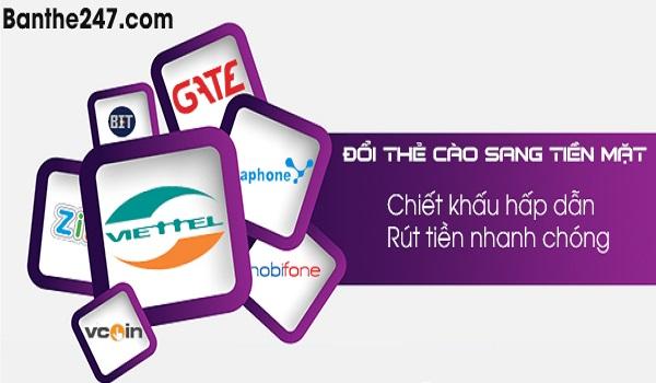 Hướng dẫn cách đổi thẻ cào online nhanh chóng