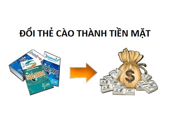 Quy trình đổi thẻ cào thành tiền mặt nhanh chóng nhất