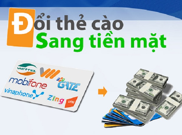 Cách đổi thẻ thành tiền nhanh chóng, đơn giản nhất