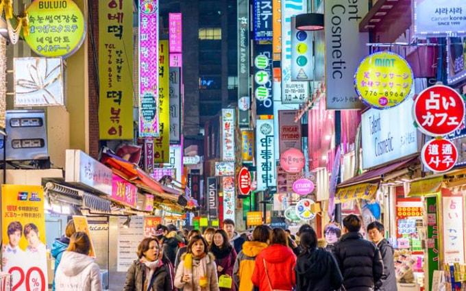 Du lịch Seoul Hàn Quốc không thể bỏ qua 5 khu mua bán sầm uất này