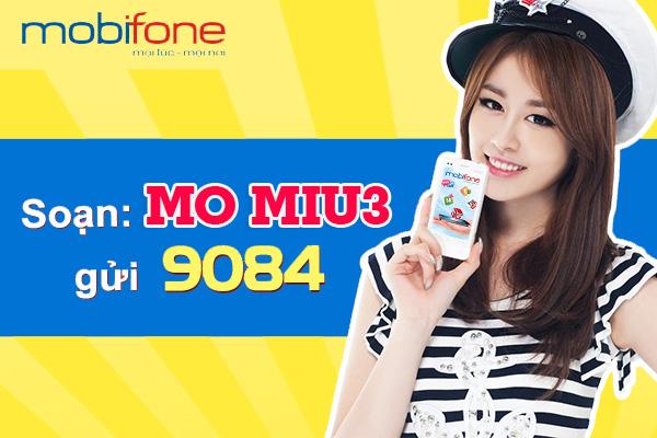 Giới thiệu về gói Data hấp dẫn MIU3 Mobifone