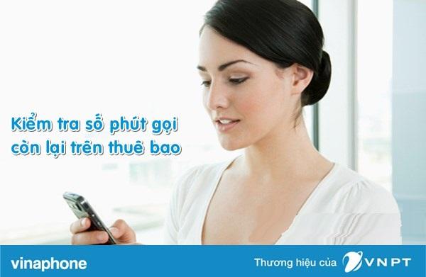 Kiểm tra số phút gọi vinaphone còn lại đơn giản nhất