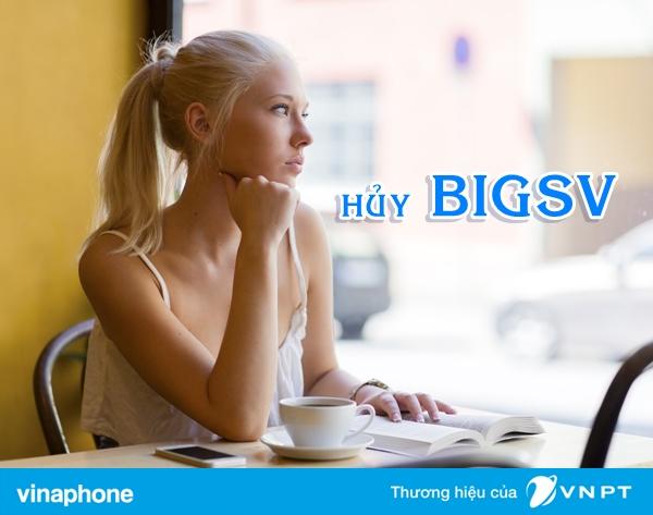 Hướng dẫn nhanh cách hủy gói BIGSV Vinaphone  đơn giản nhất