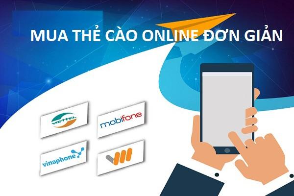 Hướng dẫn nhanh cách mua thẻ cào online đơn giản