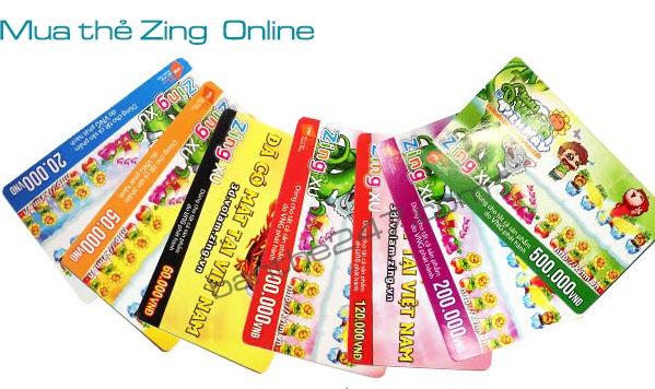 Hướng dẫn mua thẻ zing online tại banthe247.com