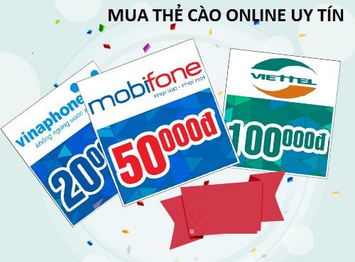 Cách nhanh nhất để mua thẻ cào online uy tín hiện nay