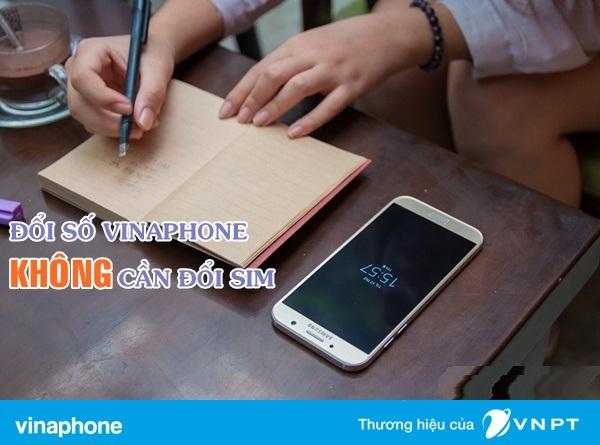 Làm sao để đổi số điện thoại không cần thay sim vinaphone?