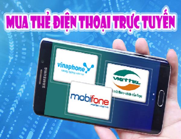 Cách mua thẻ điện thọai online nhanh chóng nạp tiền Mobifone