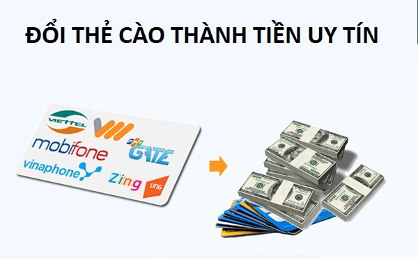 Website hỗ trợ đổi thẻ cào thành tiền uy tín
