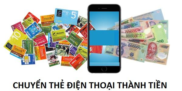 Hướng dẫn cách chuyển thẻ điện thoại thành tiền