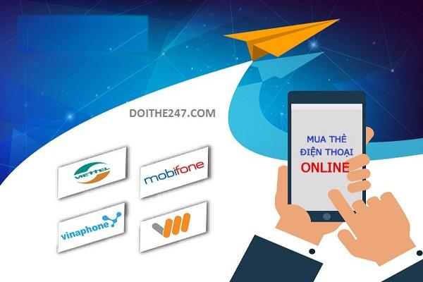 Doithe247.com - Địa chỉ mua thẻ cào điện thoại uy tín nhất