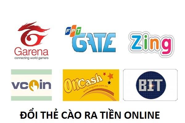 Chi tiết cách đổi thẻ cào ra tiền online