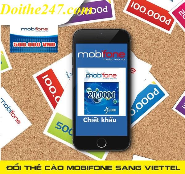 Chi tiết cách đổi thẻ mobifone sang thẻ viettel nhanh chóng nhất