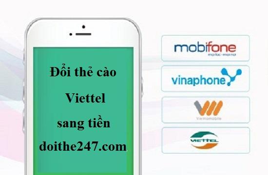 3 bước đổi card Viettel sang tiền siêu nhanh