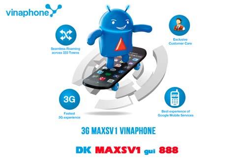 Hướng dẫn nhanh cách đăng kí gói MAXSV1 Vinaphone