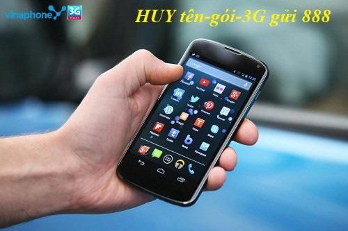 Làm sao hủy gói 3G vinaphone trên điện thoại di động?