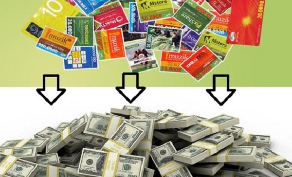 Đổi thẻ cào thành tiền trực tuyến qua 2 bước đơn giản