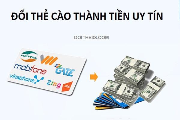 Bí kíp tìm website đổi thẻ cào thành tiền uy tín