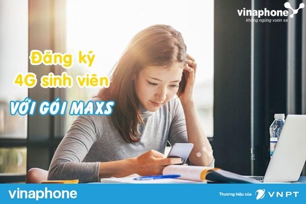 Cách đăng kí gói 4G MAXS Vinaphone  ưu đãi nhất