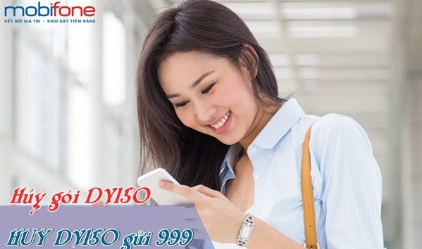 Cách hủy nhanh DV150 Mobifone nhanh nhất trên điện thoại
