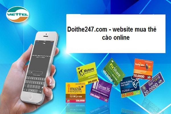 Website mua thẻ cào online nhanh nhất dành cho bạn