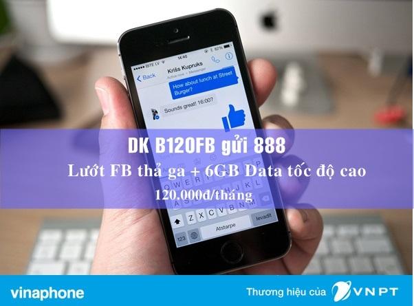 Làm sao để đăng kí gói B120FB Vinaphone nhận ưu đãi lớn nhất?