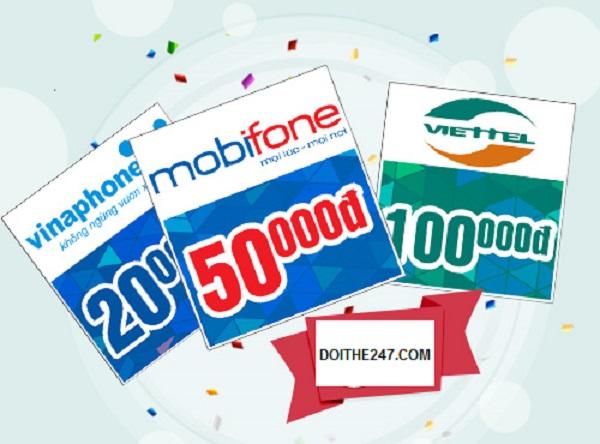 Doithe247.com - Địa chỉ mua thẻ điện thoại uy tín