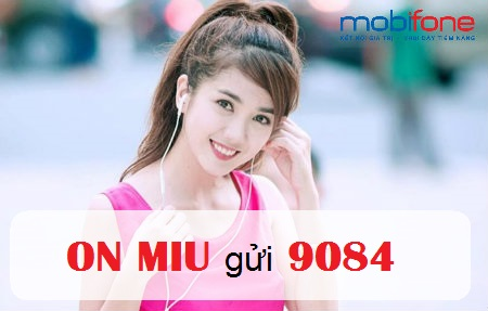 Tặng 600MB data khi tham gia đăng ký gói MIU mobifone
