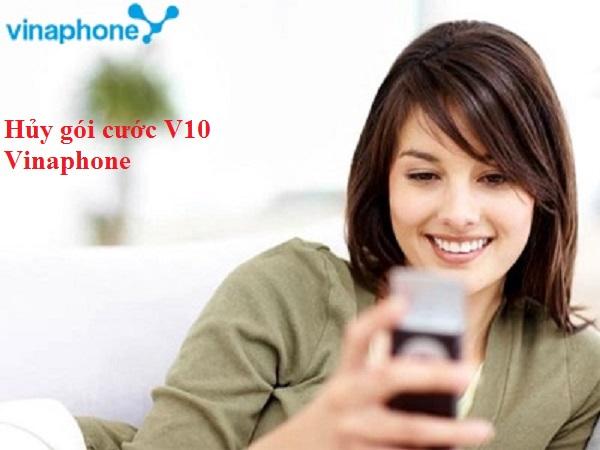 Hướng dẫn chi tiết cách hủy gói cước V10 Vinaphone