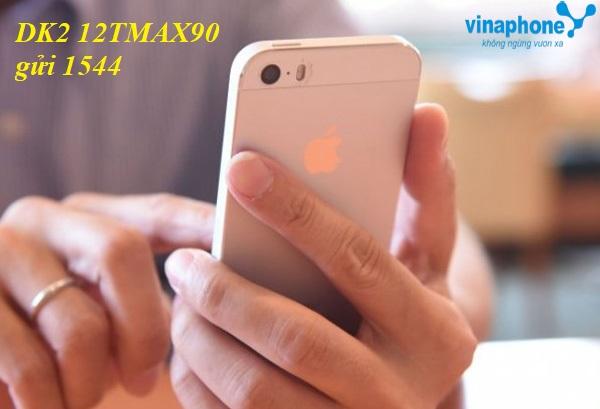 Học nhanh cách đăng kí gói 12TMAX90 Vinaphone nhận ưu đãi lớn