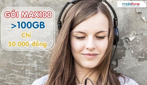 Chi tiết cách đăng ký gói cước MAX100 Mobifone chỉ với 50.000đ