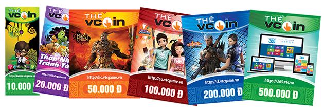 Thông tin chi tiết về dịch vụ mua thẻ vcoin bằng thẻ ATM
