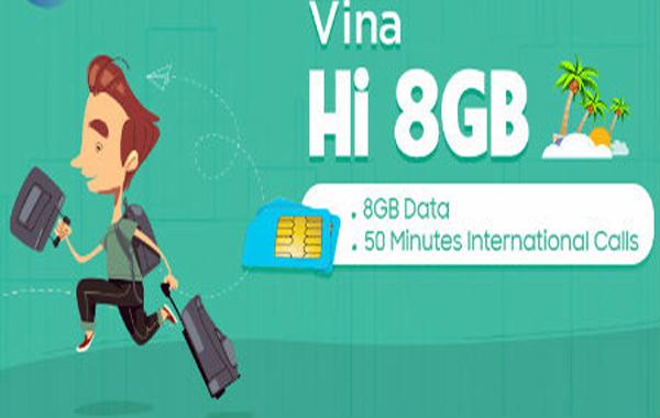 Hòa mạng sim Vina Hi nhận ưu đãi khủng về thoại, data