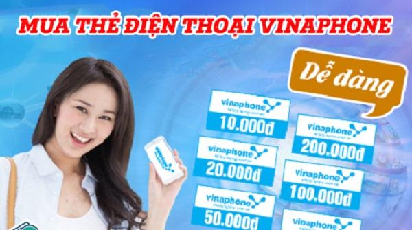 Cách mua card Vinaphone cực nhanh, chiết khấu ưu đãi nhất