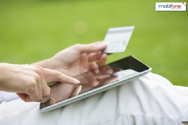 Hướng dẫn cách nạp tiền mobifone online nhận chiết khấu 4.1%
