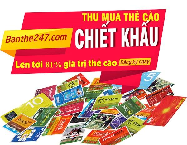 Bật mí mua thẻ cào giá rẻ nhất tại địa chỉ Banthe247.com