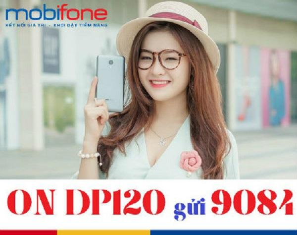 Đăng ký gói DP120 Mobifone ưu đãi combo thoại, sms, data