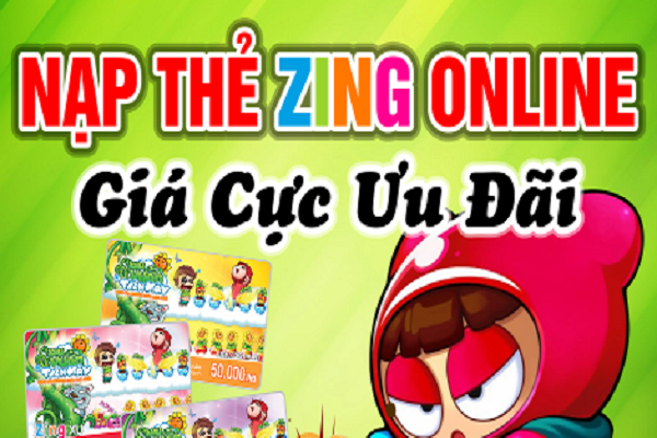 Cách mua thẻ Zing online nạp Zing xu chi tiết, đơn giản