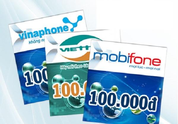 Hướng dẫn mua card điện thoại online giá rẻ