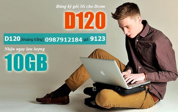 Chi tiết cách đăng ký gói cước D120 Viettel qua tin nhắn