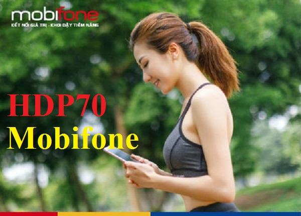 Chi tiết cách đăng ký gói cước HDP70 Mobifone