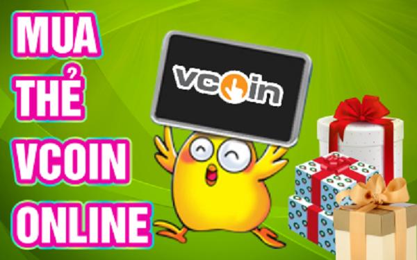 Hướng dẫn mua thẻ Vcoin, nạp card Vcoin online nhanh nhất