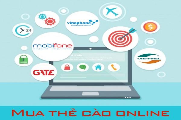 Học cách mua card điện thoại online đơn giản