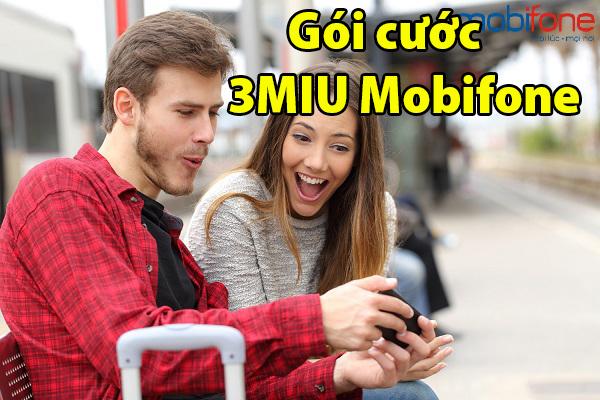 Đăng kí gói cước 3MIU của Mobifone cực đơn giản
