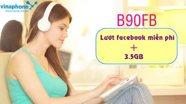 Truy cập facebook thả ga khi tham gia gói B90FB Vinaphone
