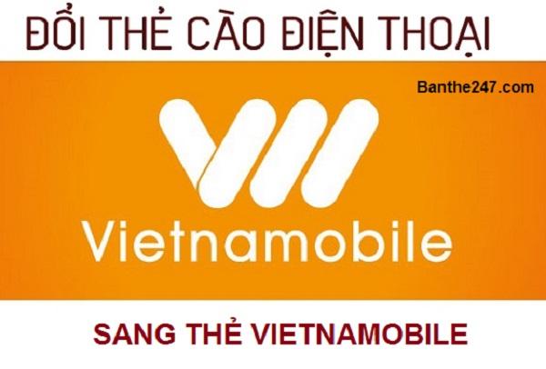Nạp tiền Vietnamobile bằng thẻ điện thoại khác đơn giản